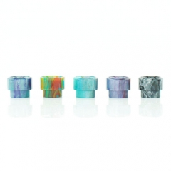 Replacement Resin Drip Tip for 528 Atomizer 16mm (1 Set) - Multicolor