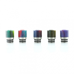 Replacement Resin 510 Drip Tip 11mm (1 Set) - Multicolor