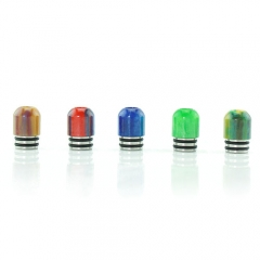 Replacement Resin 510 Drip Tip 10mm (1 Set) - Multicolor