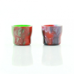 Replacement Resin Drip Tip for Cleito Atomizer 13mm (1 Set) - Multicolor