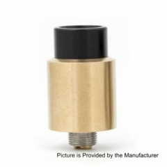 Odis Style Bottom Feeding 16mm RDA Rebuildable Dripping Atomizer - Gold