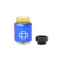 Druga Style Rebuildable Dripping Atomizer 24mm w/ Extra Bottom Feeding Pin - Blue