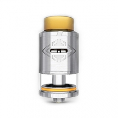 Authentic OBS Crius RDTA 4ml Rebuildable Atomizer- Silver
