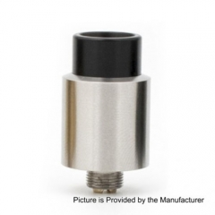 Odis Style Bottom Feeding 16mm RDA Rebuildable Dripping Atomizer - Silver