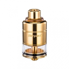 Authentic Wotofo Serpent RDTA Rebuildable Dripping Tank Atomizer - Gold