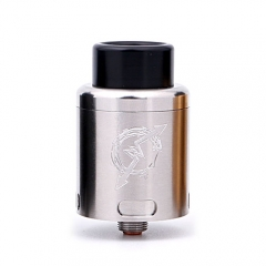PandoroStyle 25mm Rebuildable Dripping Atomizer RDA - Silver