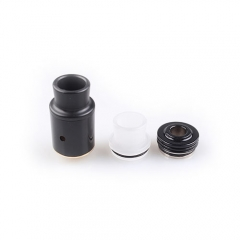 P v2 Style Rebuildable Dripping Atomizer RDA - Black