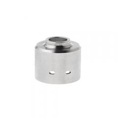 Replacement Sleeve Cap for Hadaly RDA Atomizer - Silver