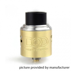 DQD Style Rebuildable Dripping Atomizer 24mm RDA - Brass