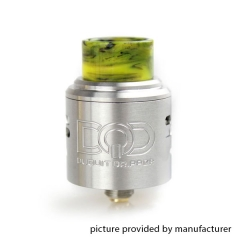 DQD Style Rebuildable Dripping Atomizer 24mm RDA - Silver
