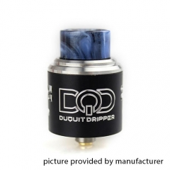 DQD Style Rebuildable Dripping Atomizer 24mm RDA - Black