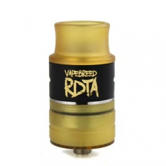 Vapebreed Style 24mm RDTA Rebuildable Dripping Tank Atomizer - Black