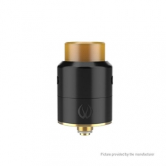 Original Vandy Vape Pulse 22mm RDA Rebuildable Dripping Atomizer w/ Extra Bottom Feeding - Black