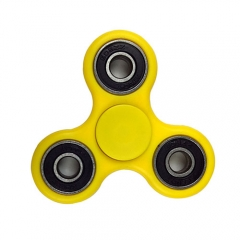 Tri-Fidget Hand Spinner Fidget toy Focus EDC - Yellow