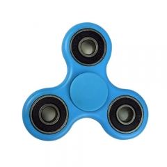 Tri-Fidget Hand Spinner Fidget toy Focus EDC - Light Blue