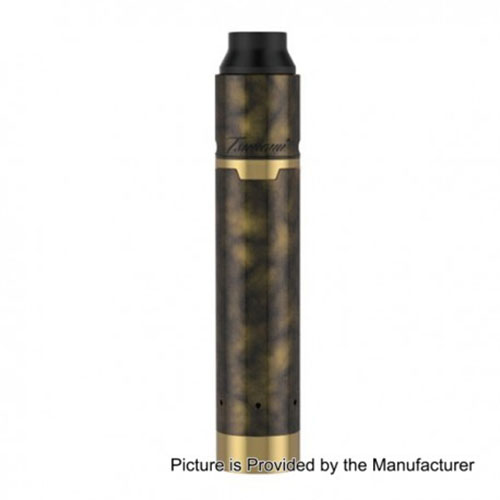 Original Geekvape Tsunami 25mm Mech Mod Kit - Painting Gold