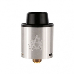 Authentic Asvape AIM-9 24mm RDA Rebuildable Dripping Atomizer - Silver