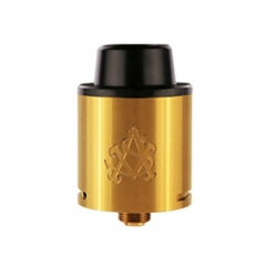 Authentic Asvape AIM-9 24mm RDA Rebuildable Dripping Atomizer - Gold