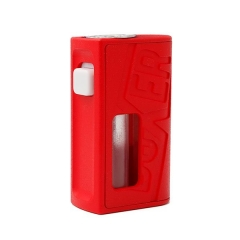 Boxer Style 18650 Bottom Feeding Mechanical Mod - Red