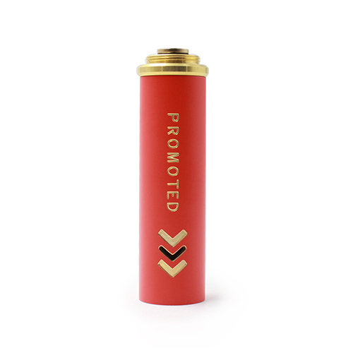 Promoted Style 18650 Extension Copper Tube for Mechanical Mod - Red