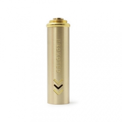 Promoted Style 18650 Extension Copper Tube for Mechanical Mod - Gold
