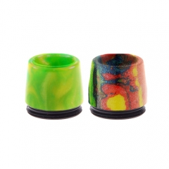 Resin Wide Bore Drip Tip for Taifun BT Atomizer 2pcs- Random Color