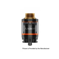 (Ships from Germany)Original Geekvape Ammit Rebuidlable Tank Atomizer Dual Coil Version - Black