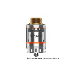 (Ships from Germany)Original Geekvape Ammit 6ml Rebuidlable Tank Atomizer Dual Coil Version - Silver