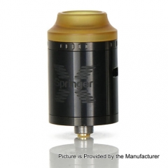 Original Tigertek Springer X 24mm RDA Rebuildable Dripping Atomizer - Black