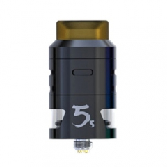Pre-sale Original IJOY RDTA 5S 2.6ml Rebuildable Dripping Tank Atomizer - Black