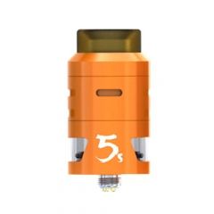 Pre-sale Original IJOY RDTA 5S 2.6ml Rebuildable Dripping Tank Atomizer - Orange