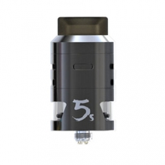 Pre-sale Original IJOY RDTA 5S 2.6ml Rebuildable Dripping Tank Atomizer - Gun Metal