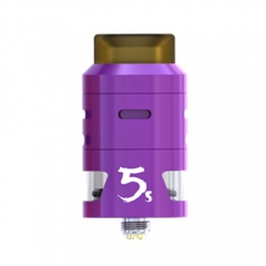 Pre-sale Original IJOY RDTA 5S 2.6ml Rebuildable Dripping Tank Atomizer - Purple