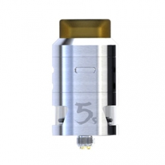Pre-sale Original IJOY RDTA 5S 2.6ml Rebuildable Dripping Tank Atomizer - Silver