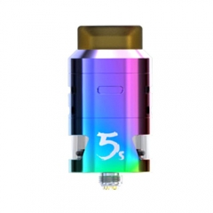 Pre-sale Original IJOY RDTA 5S 2.6ml Rebuildable Dripping Tank Atomizer - Rainbow