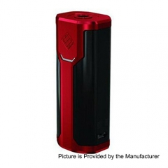 Authentic Wismec Sinuous P80 80W TC VW Variable Wattage Box Mod - Red
