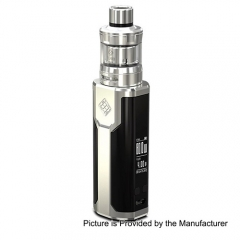 Pre-sale Original Wismec Sinuous P80 80W TC VW Variable Wattage Box Mod + Elabo Mini Tank Kit- Silver