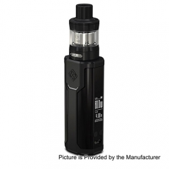 Pre-sale Original Wismec Sinuous P80 80W TC VW Variable Wattage Box Mod + Elabo Mini Tank Kit- Black