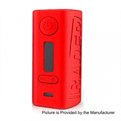 Authentic Hugo Vapor Rader 211W TC VW Variable Wattage Box Mod - Red