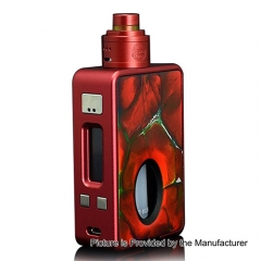 Authentic Hcigar VT Inbox Squonk DNA 75W TC VW Varible Wattage Box Mod + Maze V1.1 22mm RDA - Red