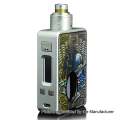 Authentic Hcigar VT Inbox DNA 75W TC VW Varible Wattage Box Mod + Maze V1.1 22mm RDA - Silver
