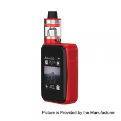 Authentic Joyetech Cuboid PRO 200W TC VW APV Box Mod w/ ProCore Aries Kit - Red