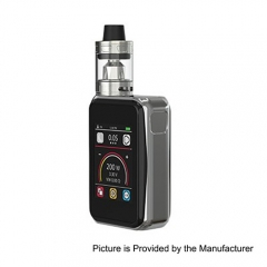 Authentic Joyetech Cuboid PRO 200W TC VW APV Box Mod w/ ProCore Aries Kit - Silver