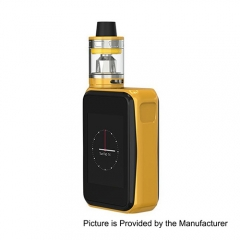 Authentic Joyetech Cuboid PRO 200W TC VW APV Box Mod w/ ProCore Aries Kit - Yellow