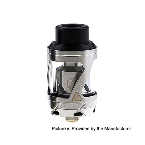 Limitless Hextron Style 24mm RTA Rebuildable Tank Atomizer - Silver
