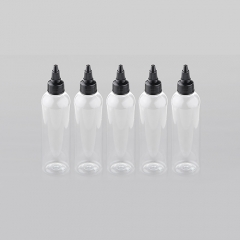 Empty Dropper Bottles for E-liquid 100ml (5-Pack)