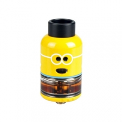Authentic Ample Pixy 25mm RDTA Rebuildable Dripping Tank Atomizer - Yellow