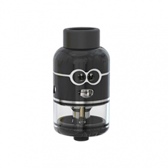 Authentic Ample Pixy 25mm RDTA Rebuildable Dripping Tank Atomizer - Black