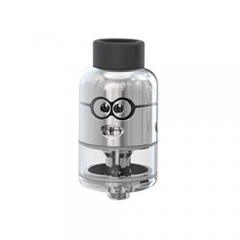 Authentic Ample Pixy 25mm RDTA Rebuildable Dripping Tank Atomizer - Silver