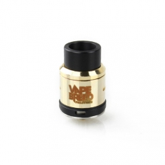 Vapebreed Atty V4 Style 24mm RDA Rebuildable Dripping Atomizer - Gold